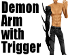 Demon Arm-Black