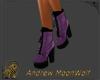 NuBuck Hiker Boot Purple