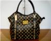 Black & Gold Lv Bag