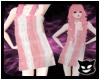 [PP] Towel White Pink