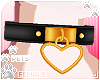 [Pets]HeartCollar|black