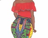 Kids Mom Afrocentric xll