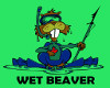 Wet Canadian Beaver
