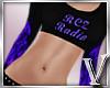 *V* RCZ Top Purple