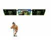 Monster Energy tv screen