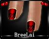 V-Day BlackHart Nails