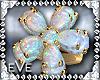 [eVe]OpalFlowerRing