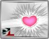 collar heart pink