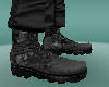 [LM]charcoal camo boots