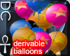 [DC] Party Balloons M/F