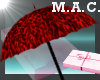 (MAC) Umbrella-Red-Leo