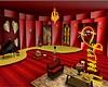 Golden red room