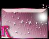 *R* Wht Sparkles Sticker