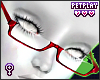 Glasses Burgundy