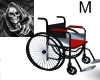 Emo Chrome Wheel Chair M