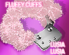 ♡ Fluffy Cuffs L
