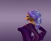 Purple Silver Pig Tail
