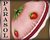 +Strawberry Tart+Parasol