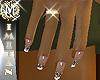 (MI) Jewels nails