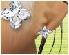 LV diamond studs