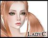 Apricot Blonde Pigtails