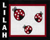 *L* Ladybug Rug
