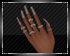 Tan Nails w Rings