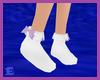 [E] Purple Bow Socks