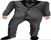 Grey tuxedo whole suit