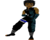 [B] Blue Ninja Top
