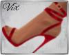 WV: Sophia Heels Red