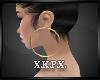 -X K- Earrings Gold