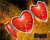 Esclava corazon rojo