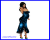 LXF maternity dress blue