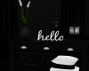 Black & White Cabinet