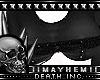 Goth Black Xmas Top