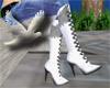 ~D~ Arctic boots white