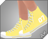 ~AK~ Varsity Shoe: Lemon