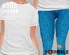 <J> Drv T-shirt Jeans S