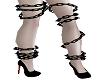 Black Leg Chains