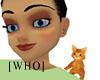 [WHO] F shoulder cat red