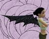 {K} Black marble Bat