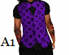 Dress Vest Louis Purple