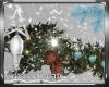 Blue Christmas Garland