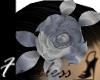 *fb* hair flower -silver