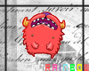 [R]CandyCreature: Red