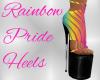 Rainbow Pride Heels