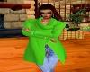 !Gigi! Lime Green Coat