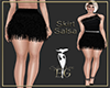 skirt salsa black