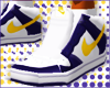 (e) Purple / Yello Dunks